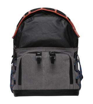 Diesel Grey Denim & Black D-Master Backpack