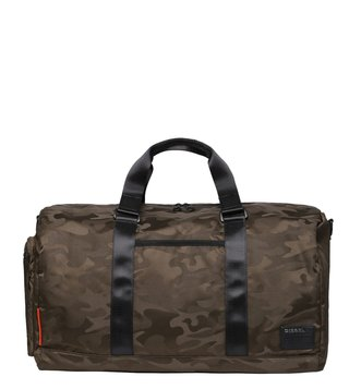 Diesel Olive Night F-Discover Duffle Bag