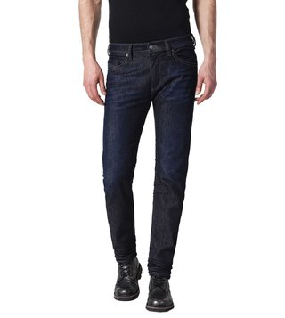 Diesel Rinse Washed Blue Thommer L.32 Pantaloni Skinny Fit Jeans