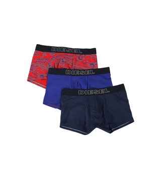 Diesel Multicolor Umbx-Shawn Trunks - Pack Of 3