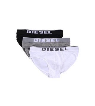 Diesel Multicolor Umbr-Andre Briefs - Pack Of 3