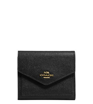 Coach Light Black Medium Wallet