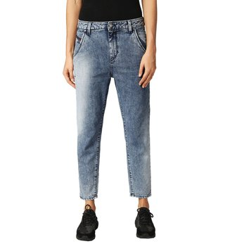 Diesel Lightly Washed Blue Fayza-Evo L.32 Pantaloni Boyfriend Jeans