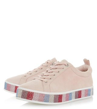 Dune London Multi Diamantes Electrik Sneakers