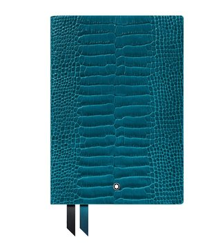 Montblanc Croco Print Teal #146 Notebook