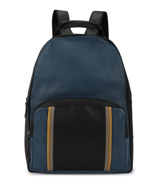 Longchamp Pilot Blue Ruban Large Backpack