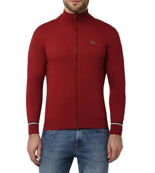 La Martina Rio Red Life Style Regular Fit Sweater