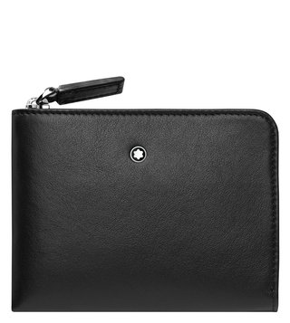 Montblanc Nightflight Business Card Holder With Zip