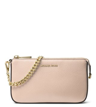 859af28c13 MICHAEL Michael Kors Soft Pink Medium Clutch ...