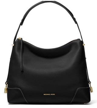 2bf0e62fc3 MICHAEL Michael Kors Black Crosby Medium Shoulder Bag ...