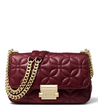 b96c3d9f666b MICHAEL Michael Kors Oxblood Sloan Medium Shoulder Bag ...