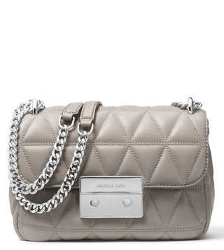 c642a09e54b1 MICHAEL Michael Kors Pearl Grey Sloan Medium Shoulder Bag ...