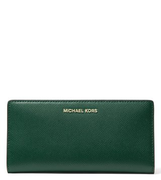0c6c74ac930d MICHAEL Michael Kors Racing Green Multi Small Money Pieces Card Holder ...