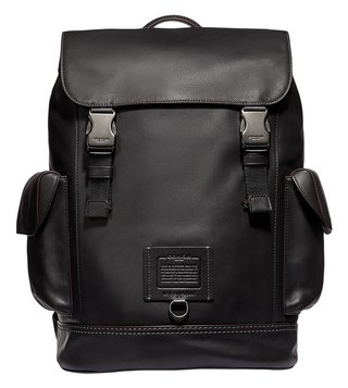 Coach Black Kent Medium Backpack