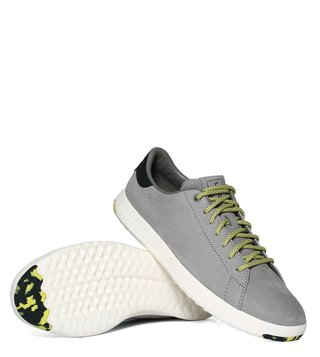 Cole Haan Grey Grandpro Tennis Sneakers