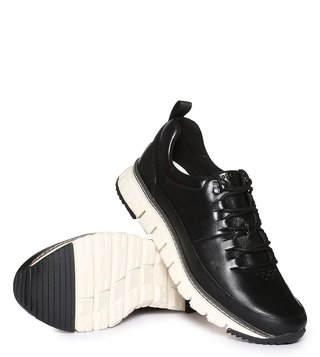 Cole Haan Black Zerogrand Rugged Sneakers