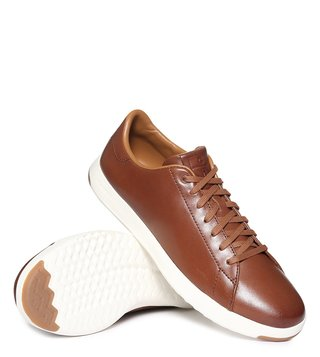 Cole Haan Tan Grandpro Tennis Sneakers