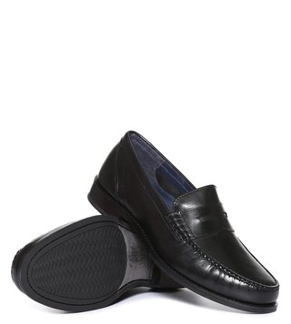 Cole Haan Black Pinch Grand Classic Penny Loafers