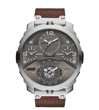 Diesel DZ7360 Grey Machinus Analog Watch For Men