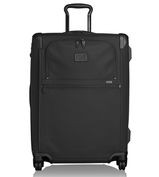 Tumi Black Alpha 2 Short Trip Expandable 4 Wheeled Checked Luggage