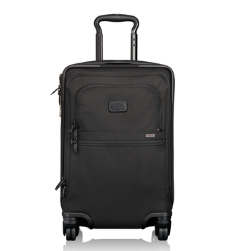 Tumi Black Alpha 2 International 4 Wheeled Office Carry-On Luggage