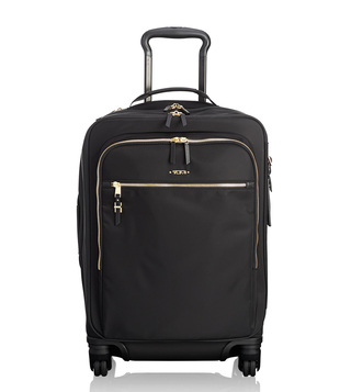 Tumi Black Voyageur Tres Leger International Carry-On Luggage