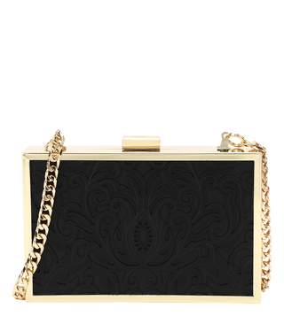 Cavalli Class Black Venus Mini Cross Body Bag