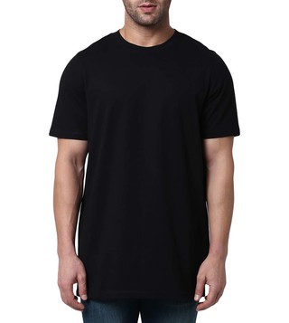 Matthew Miller Black Solid T-Shirt