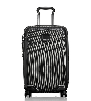 Tumi Black Hard Shell Latitude International Carry-On Luggage