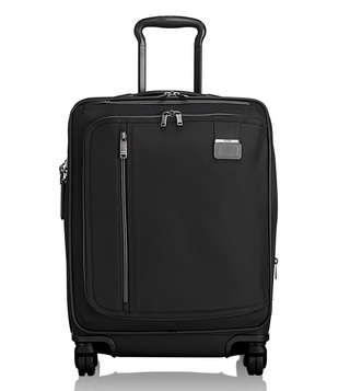 Tumi Black Contrast Soft Shell Merge Continental Expandable Carry-On Luggage