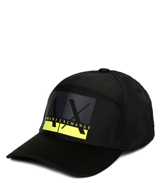 Armani Exchange Nero Boxed Colorblock Cap