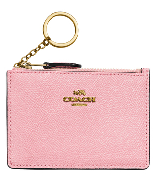 Coach Gold Blossom Id Skinny Mini Wallet