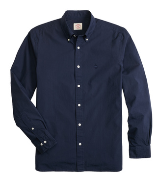 Brooks Brothers Red Fleece Navy Broadcloth Shirt