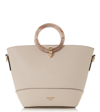 Dune London Blush Durtle Large Satchel