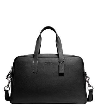 e89089a0e Coach Black Antique Nickel Metropolitan Soft Carryall Briefcase ...