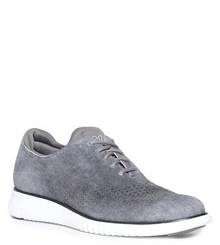 Cole Haan Grey Zerogrand All-Day Stitchlite Trainers Men Sneakers