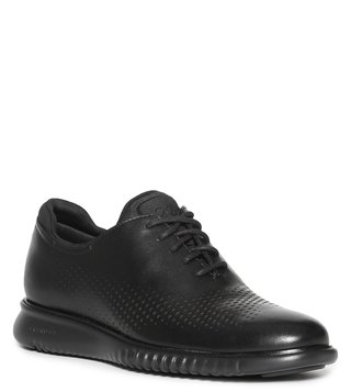 Cole Haan Black Zerogrand Laser Wingtip Men Sneakers