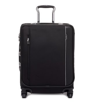 Tumi Black Arrive Medium Top Handle Carry-On Luggage