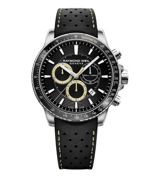 Raymond Weil Tango 8570-SR1-20701 Black Dial Watch For Men