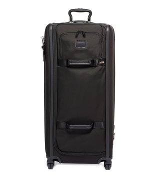 Tumi Black Alpha 3 Extra Large Top Handle Checked Luggage