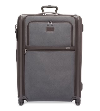Tumi Anthracite Alpha 3 Extra Large Top Handle 4 Wheeled Checked Luggage