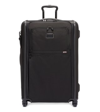 Tumi Black Alpha 3 Extra Large Top Handle 4 Wheeled Expandable Checked Luggage