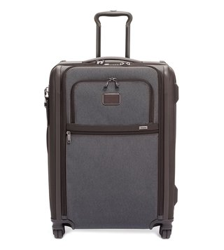Tumi Anthracite Alpha 3 Large Top Handle 4 Wheeled Expandable Checked Luggage
