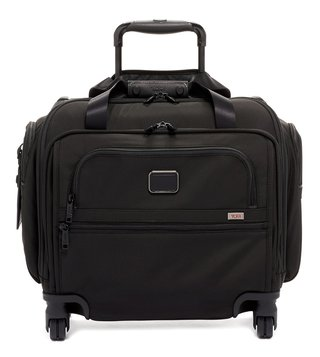 Tumi Black Alpha 3 Medium Compact 4 Wheeled Luggage Bag