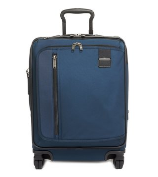 Tumi Navy Merge Large Top Handle 4 Wheeled Carry-On Luggage