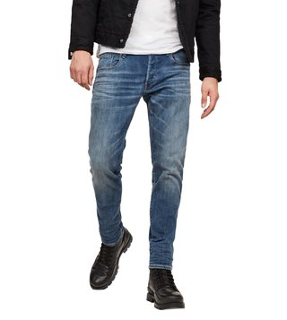 G-Star RAW Medium Aged 3301 Slim Fit Jeans