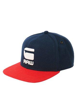1ce46275f40 G-Star RAW Dark Saru Blue And Flame Estan Logo Snapback Cap ...