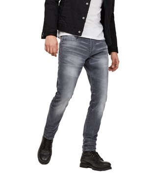 G-Star RAW Light Aged 3301 Straight Tapered Fit Jeans