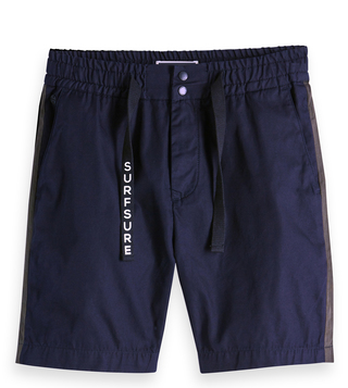 Scotch & Soda Navy Main Regular Fit Shorts
