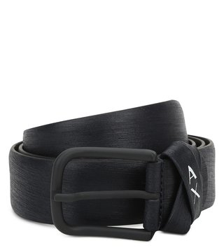 Armani Exchange Navy Waist Belt